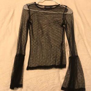 Minkpink see through shirt